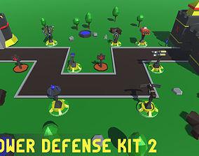 Simple Tower Defense Kit 2 3D model