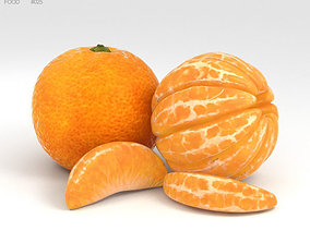 3D model Mandarin Orange