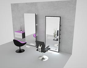 Beauty salon decor 3D model
