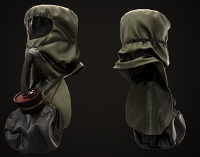 3D model SCSR Gas Mask