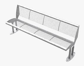 3D model Parkbench