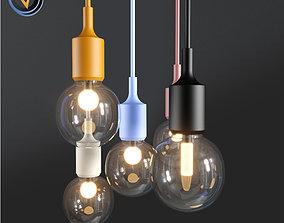 Pendant Lights Vintage Edison Decoration Lighting 3D