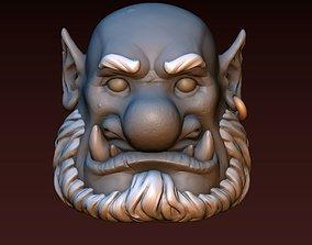 3D print model Ogre head