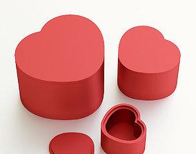 Heart box for gift 3D printable model