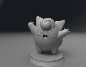 Clefairy figurine 3D print model