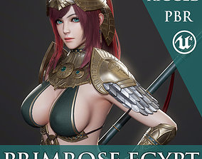 3D model Primrose Egypt - Game Ready