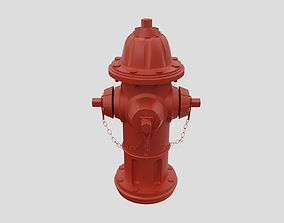 3D asset Fire Hydrant - Classic Fireplug - Safety and 2