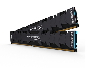 3D model Hyperx DDR4 RAM