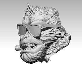 KingKong Monkey Gorilla Gorillaz with 3D printable model 2