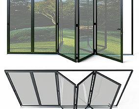 3D model Bi folding doors