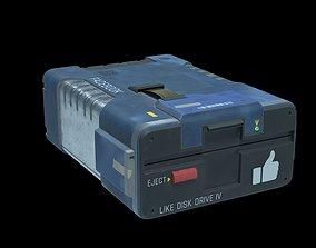 Facebook Likes Floppy Disk Drive 3D model