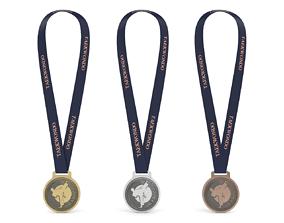 3D model Taekwondo Medal