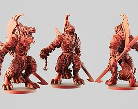 3D print model Rha wolfman
