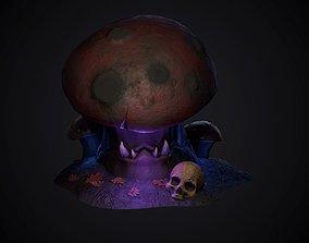 3D model Glowing mushrooms