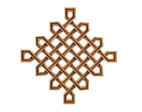 Celtic knot ornament CNC 3D printable model