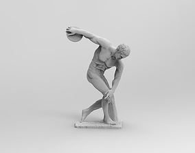 Discobolus 3D printable model