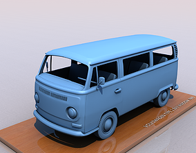 VOLKSWAGEN BAY WINDOW TYPE 2 1969 3D print model