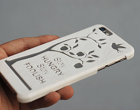 3D printable model Iphone 6 Case Steve Jobs Quote