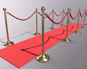 Modular Red Carpet Kit 3D model