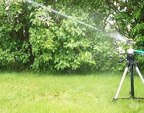 Quick Release Sprinkler Tripod Adapter 3D print model