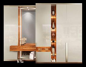 Wardrobe hallway composition set 01 3D model
