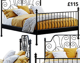 bedding 3D Ikea Leirvik bed