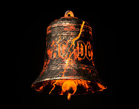 AC DC Hells Bells Legends of Rock 3D print model
