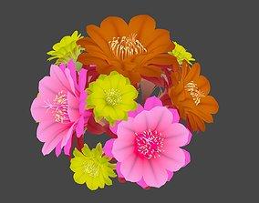 Flowers bush 3D model