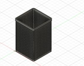 3D print model pencil mesh cup