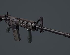 M4 Carbine 3D asset