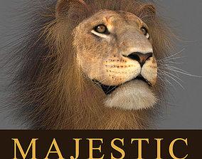MAjestic Lion - 3d model animated