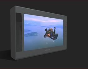 Sony Trinitron CRT TV 3D asset