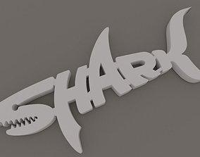 Shark 3D print model