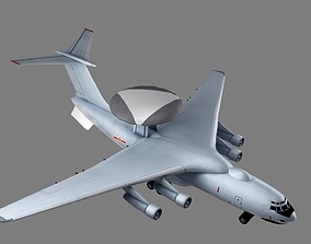 Xian KJ-2000 Mainring AWACS 3D model