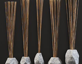 3D Branch Vase Ngon stone old n1