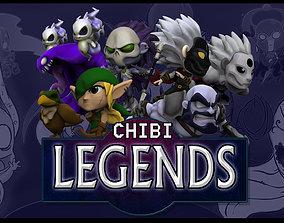 3D print model Chibi Legends core game