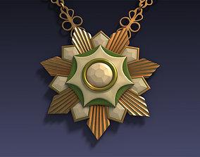 Golden Medal 3D model