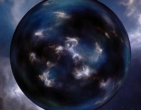 Nebula Space Environment HDRI Map 016 3D