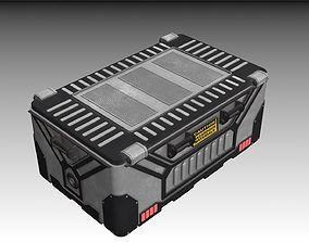 Sci-fi Bio container 2 3D model