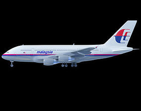 Malaysia Airlines Airbus A380 3D model