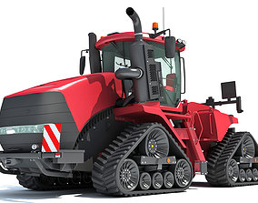 Tracked Articulated Tractor 3D model