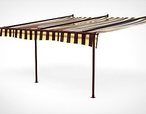 3D Awning Canopy Marquise
