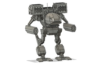 BattleTech Mad Cat and Daishi 3D printable model