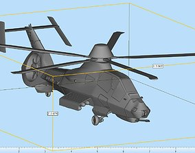 RAH-66 Comanche Highly Detailed 3D printable model