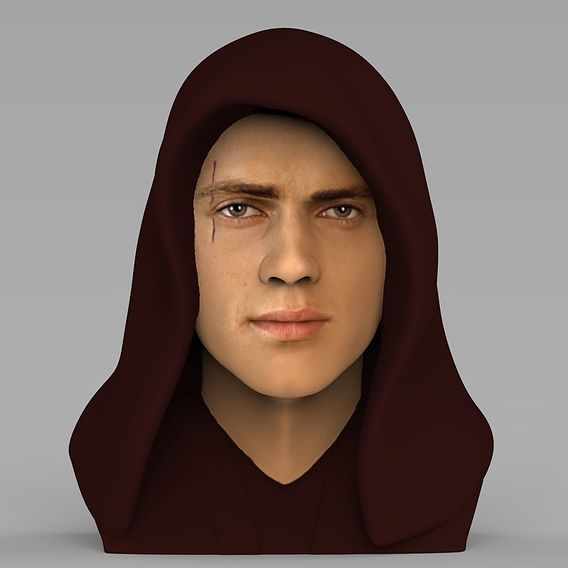 Anakin Skywalker bust