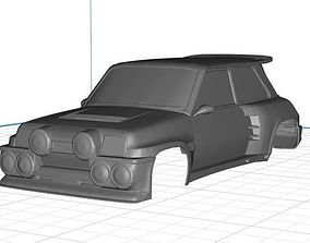 Renault Copa Turbo Body Car Printable 3D