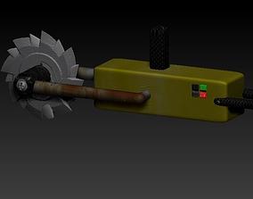 3D asset Electric saw