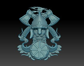 3D printable model Slavic warrior printing