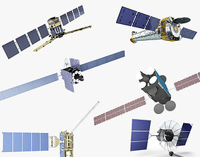 Satellite Collection 6 in 1 3D model