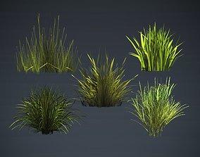 3D model Kit of grass pack